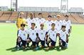 【U-22日本代表 1-2 京都】U-22日本代表候補のスタメン集合写真。写真:小倉直樹(サッカーダイジェスト写真部)