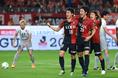【鹿島2-0福岡】大一番でゴールを決めた山本(16番)が喜びを爆発させる。写真:徳原隆元