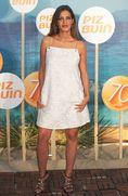 サラ・カルボネロ(イケル・カシージャスの妻)。スペインでは著名なTV司会者で、2009年からカシージャスと交際。南アフリカW杯決勝後のTVインタビュー中にキスを披露し、一躍スペインの国民的カップルとなった。14年1月には長男が誕生し、16年3月に結婚した。(C)Getty Images