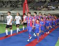 【FC東京1-2浦和】入場する両チーム。写真:佐藤 明(サッカーダイジェスト写真部)