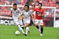 中島(39番)が意地の一発を見舞うも、FC東京の反撃はそこまで。(C)SOCCER DIGEST