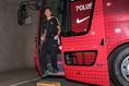 【G大阪 1(4PK5)1 浦和】スタジアムに到着しバスから降りる李。写真:滝川敏之(サッカーダイジェスト写真部)