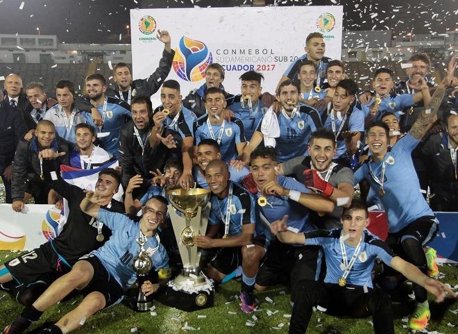 ウルグアイがU-20南米選手権を36...
