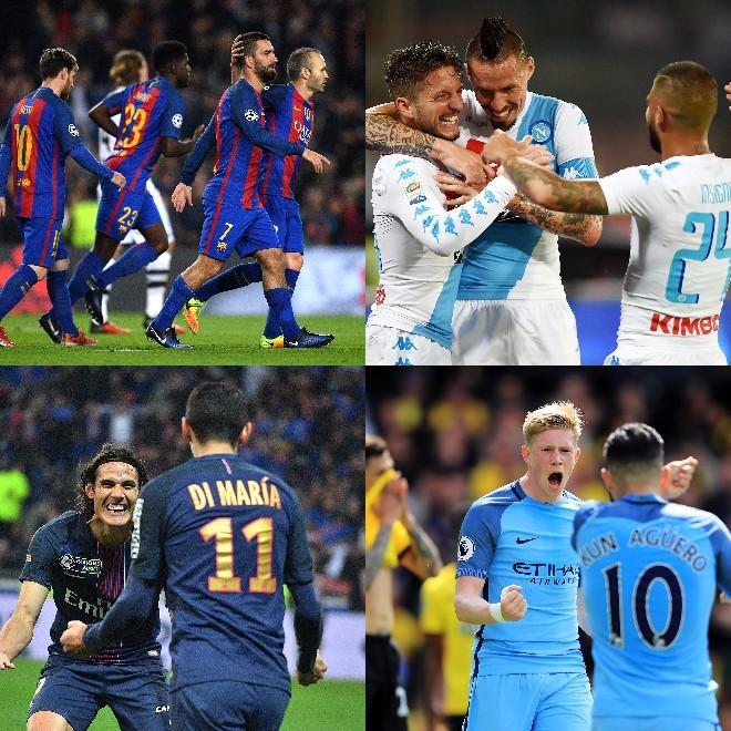 欧州5大リーグのチーム別「パス成功率TOP20」。バルサやバイエルンを ...