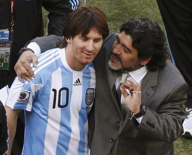 2008年から2年間、アルゼンチン代表でメッシを指導したマラドーナだが\u2026