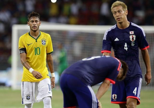 日本代表】ブラジル代表との過去...
