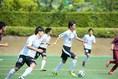 京都U-18は、FW奥川雅也がスピーディーな突破で攻撃に迫力を生み出した。自身も1ゴールをマーク。 (C) SOCCER DIGEST
