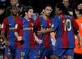 2006-2007シーズン|2007年3月10日|第26節|FCバルセロナ 3-3 レアル・マドリー|メッシ⑲がトップチーム昇格後、初めてハットトリックを達成したのがこのクラシコだった。 (C) REUTERS/AFLO