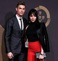 クリスチアーノ・ロナウド(ポルトガル代表)とパートナーのジョージナ・ロドリゲス。写真:Getty Images