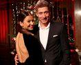 ロベルト・レバンドフスキ(ポーランド代表)と妻アンナ・レバンドフスキ。写真:Getty Images