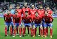 コスタリカ(2大会連続5回目)|連盟設立:1921年|FIFA加盟:1927年|FIFAランク:25位|CONCACAFランク:3位|最高成績:ベスト8(2014)|愛称:ロス・ティコス(コスタリカ人の意) (C) REUTERS/AFLO