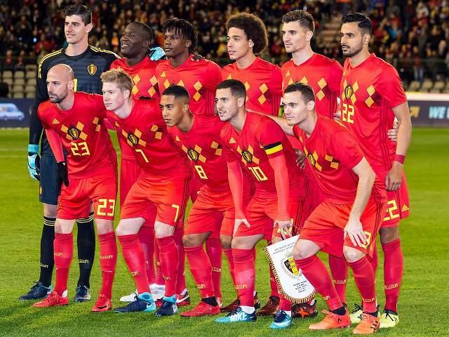ベルギー代表がロシアW杯出場の2...