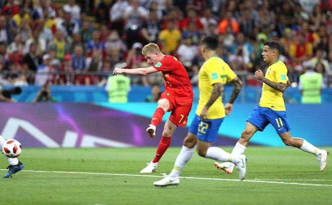 ブラジル1-2ベルギー W杯採点...