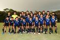 【日本2-0ベトナム】試合前に全員で記念撮影。写真:茂木あきら(サッカーダイジェスト写真部)