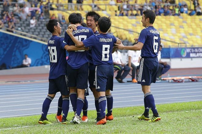 U-16日本代表が来年のW杯出場権...