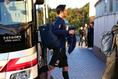 【日本代表PHOTO】練習場に入る杉本。写真:山崎 賢人(サッカーダイジェスト写真部)