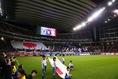 アジアカップ前、最後の国際親善試合の会場は豊田スタジアム。写真:山崎賢人(サッカーダイジェスト写真部)