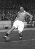 1956年受賞|スタンリー・マシューズ(イングランド/FW)|主な所属クラブ:ブラックプール、ストーク|イングランドサッカー界の名ウイングで、17歳から50歳まで第一線でプレー。愛称は「ドリブルの魔術師」。 (C) Getty Images