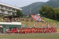 試合は、東山のホームゲームとして行われた。 (C) SOCCER DIGEST