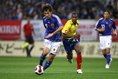 【日本代表PHOTO】2007年6月5日 キリンカップサッカー2007 ALL FOR 2010!(埼玉スタジアム)|高原直泰(沖縄SV)。(C)Soocer Digest