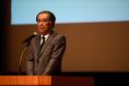 【浦和レッズキックオフイベント】立花洋一代表取締役社長。写真:金子拓弥(サッカーダイジェスト写真部)