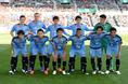 【川崎1-0浦和】川崎フロンターレのスターティングイレブン。写真:金子拓弥(サッカーダイジェスト写真部)