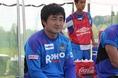 今年、監督就任5年目を迎えるG大阪ユースの梅津博徳監督。稲本潤一らと戦ったユースOBでもある。 (C) Masayoshi MORITA
