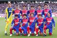 【FC東京3-1鹿島】FC東京のスターティングイレブン。写真:茂木あきら(サッカーダイジェスト写真部)