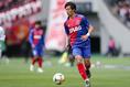 【FC東京3-1鹿島】室屋成。写真:茂木あきら(サッカーダイジェスト写真部)