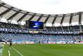 【磐田 1-2 清水 PHOTO】エコパでのホームゲームとなった磐田のサポーター|写真:金子拓弥(サッカーダイジェスト写真部)