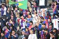 【広島 0-1 FC東京PHOTO】FC東京サポーター。写真:徳原隆元