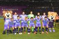 【広島 0-1 FC東京PHOTO】広島スターティングメンバー。写真:徳原隆元