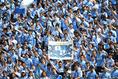 【名古屋 1-0 磐田 PHOTO】磐田サポーター。写真:徳原隆元