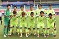 グループリーグ第3戦の韓国戦に臨んだ先発メンバー。決勝トーナメント進出には勝利が必要な試合だった。(C) SOCCER DIGEST