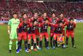 【ACL 鹿島 1-0 広島 PHOTO】鹿島スターティングメンバー。写真:徳原隆元