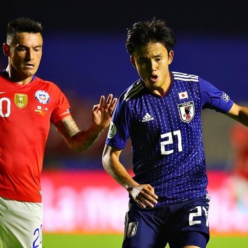 日本代表、王者チリに0-4完敗… 初スタメンの久保は相手守備を翻弄するも、決定機生かせず