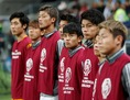 日本のベンチメンバー。(C) REUTERS/AFLO