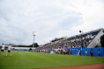 【チェルシーPHOTO】三ツ沢競技場で行われた 写真:金子拓弥(サッカーダイジェスト写真部)