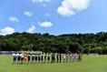 【インターハイ2019 PHOTO】米子北1-0長崎日大|正午キックオフ|写真:金子拓弥(サッカーダイジェスト写真部)