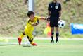 【徳島市立高校PHOTO】米田世波はPKを見据えて途中投入された|写真:金子拓弥(サッカーダイジェスト写真部)