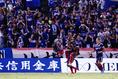 3点目を決めたエリキ|写真:茂木あきら(サッカーダイジェスト写真部)
