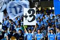 【川崎2-0磐田】勝ち点3を切望する磐田サポーター|写真:金子拓弥(サッカーダイジェスト写真部)