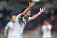 【浦和 0-2 Honda FC】後半42分、浦和を突き放し歓喜する原田。写真:山崎 賢人(サッカーダイジェスト写真部)