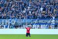 【C大阪3-1G大阪】ゴールを奪いポーズを決めるブルーノ・メンデス。写真:山崎 賢人(サッカーダイジェスト写真部)