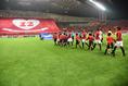 【ACL 浦和 2-0 広州 PHOTO】ピッチに向かう浦和の選手たち。写真:徳原隆元
