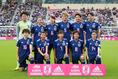【日本4-0カナダ】なでしこジャパンのスターティングメンバー。写真:山崎 賢人(THE DIGEST写真部)
