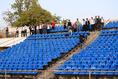 【日本代表練習 PHOTO】どこからか入ってきたタジキスタン人も練習を見守る|写真:金子拓弥(サッカーダイジェスト写真部)