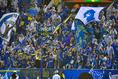 【浦和 0-1 大分 PHOTO】敵地での平日ナイトゲームに駆け付けた大分サポーター|写真:サッカーダイジェスト