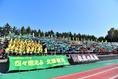 【選手権予選 北海道】札幌第一0-1北海|北海側は多くの応援団が駆け付けた|写真:金子拓弥(サッカーダイジェスト写真部)