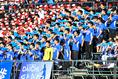 【選手権予選 北海道】札幌第一0-1北海|札幌第一の応援団|写真:金子拓弥(サッカーダイジェスト写真部)